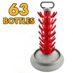 Beer Bottle Drying Stand: Tree Type