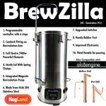 Brewzilla – Brew Kettle 35 liters