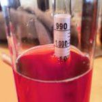 Triple Scale Hydrometer: Measure Alcohol, SG & Brix