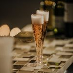 home made sparkling champagne wine