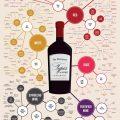 wine style infographics mindmap